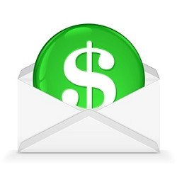 Create an INVOICE for CML Postage & Processing ($50)