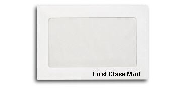 First Class Mail Booklet Size 6x9 - Pack of 50 Envelopes for Certified Mail Labels.com